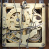 An un-named Chinese one day Cuckoo clock movement