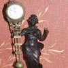 A fake Chinese copy of a German Diana Mystery clock by Junghans