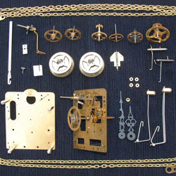 Hermle and Kieninger clock movements repaired and replaced by ...
