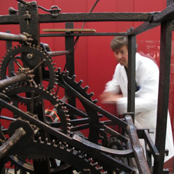 The Wells Cathedral clock movement