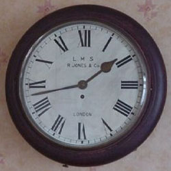 R Jones is a common name found on a fake fusee dial clock